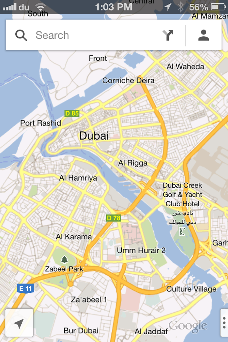 Google Maps Launched For Iphone Users In Uae Emirates247