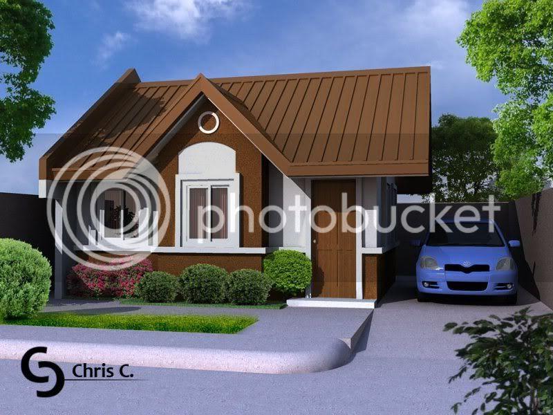 simple bungalow house