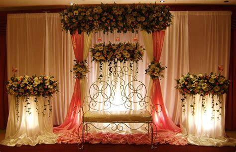Vismaya: Wedding Settee backs