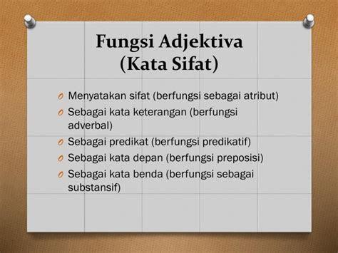tata bahasa baku bahasa indonesia adverbia