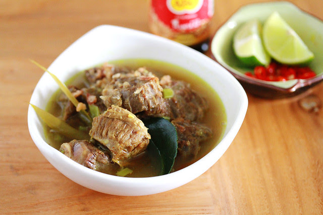 Soto Sapi - Indonesian Spiced Beef Soup