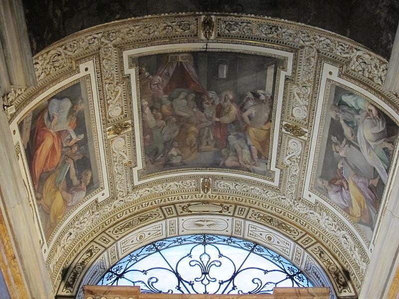 File:San luigi dei francesi, interno, cappella contarelli 04.JPG