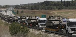 טנקים על מובילים