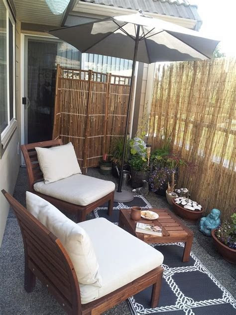 personal balcony retreat reed privacy screen