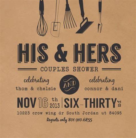 Wedding couples shower invitation   PAPER   Pinterest