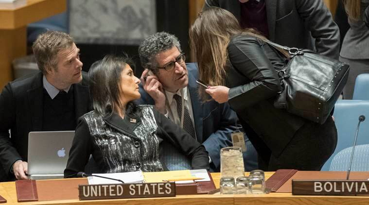 nikki haley, UNSC, US