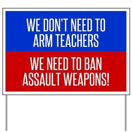 Ban Assault Weapons Yard Sign by Admin CP1519247