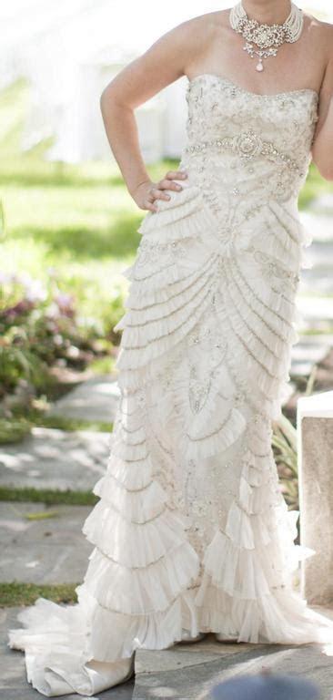 Lazaro 3059, $3,500 Size: 8   Used Wedding Dresses