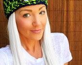 Seattle Seahawks Hat Hair Cap Earwarmer Accessory Band Hawks Fashion Blue Green Women Girl Men Football Head Adult Teen