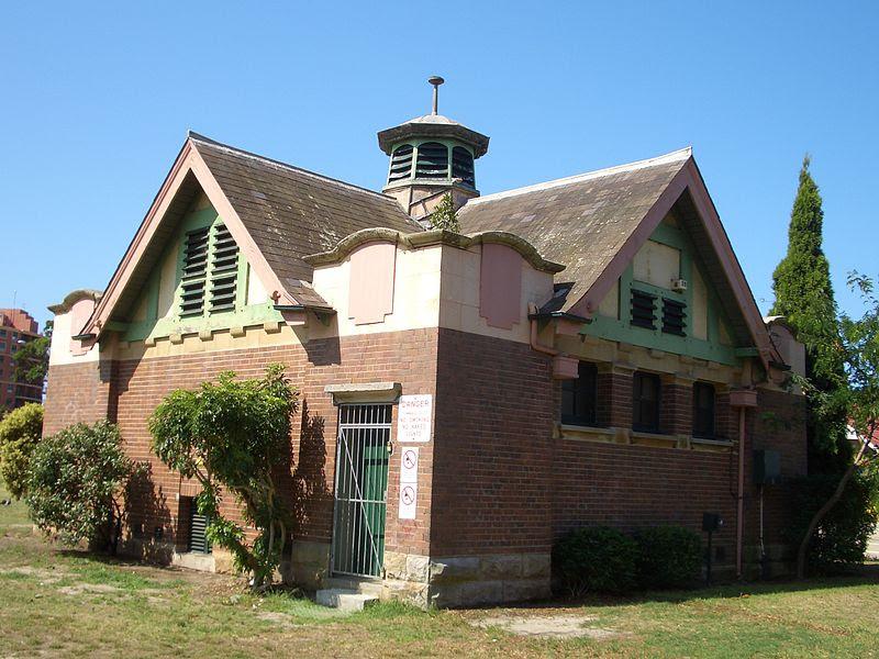 Maintenance depot, Dacey Gardens
