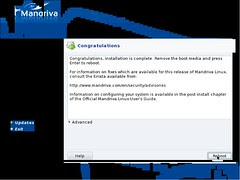 Mandriva Installation Screenshot 18