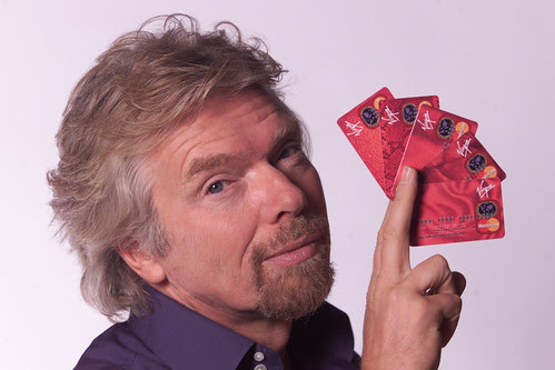 Richard Branson: homme d'affaires riche
