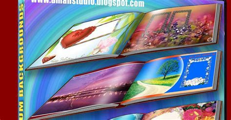 Aman Studio: DIGITAL ALBUM BACKGROUNDS # 14