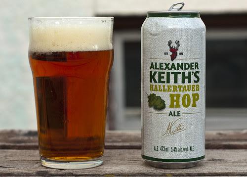Review: Alexander Keith's Hallertauer Hop Ale by Cody La Bière