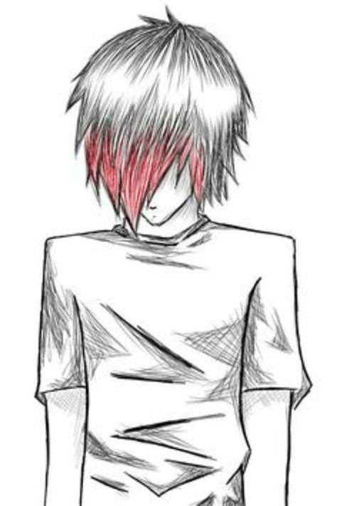 emo boy drawing art ideas pinterest boys love