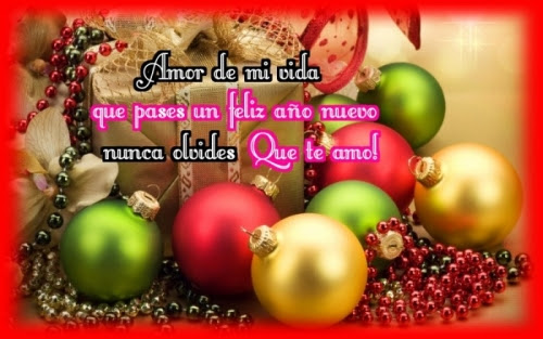 Feliz Ano Nuevo Mi Amor