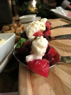 Beet Grapefruit Burrata