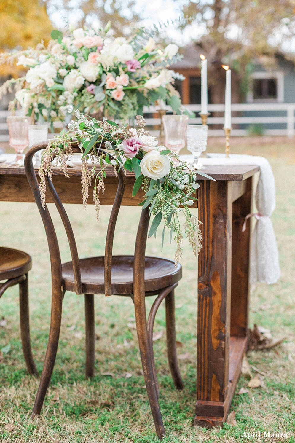 Dusty Pink Wedding: The Farm at South Mountain - St. Louis ...