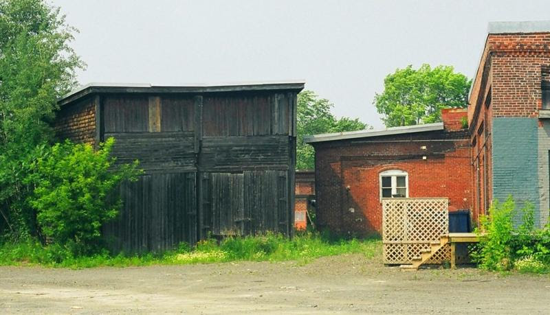 Fredericton engine shed