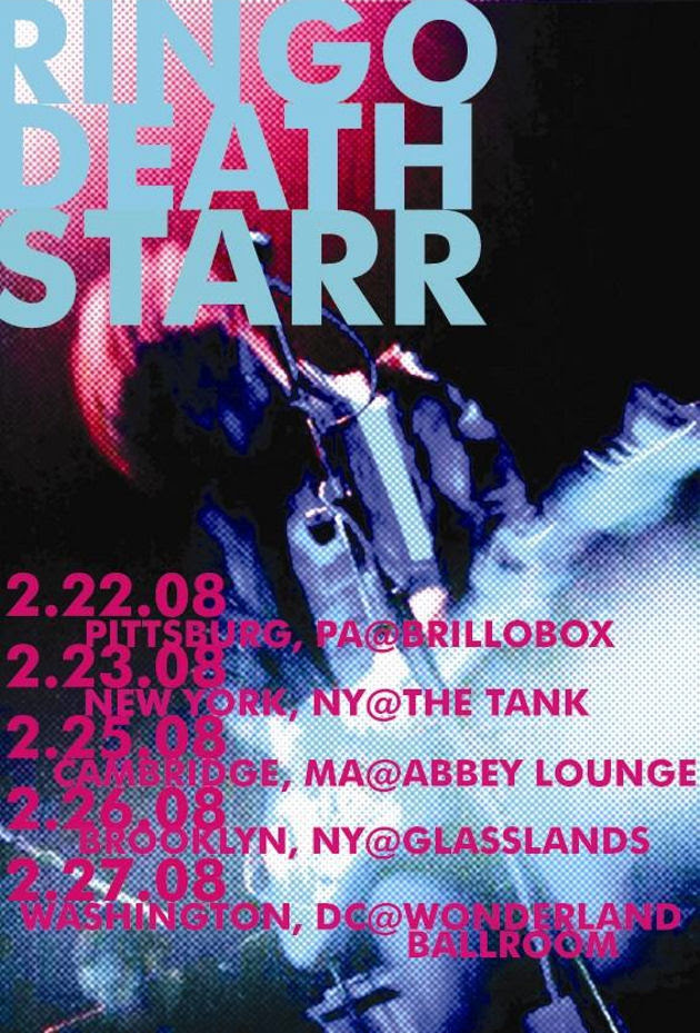 Ringo Deathstarr, East Coast Tour 2008