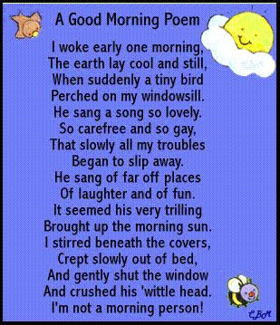 funny jokes - The Best Good Morning Love Poems For The One