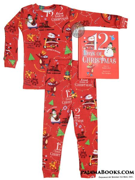 Christmas Book and Pajamas Boys