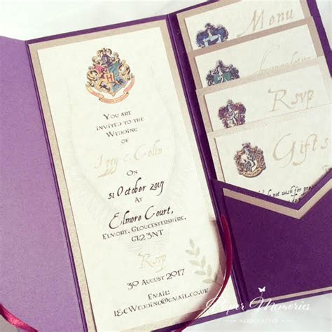 Harry Potter Invitation   Paper Memories