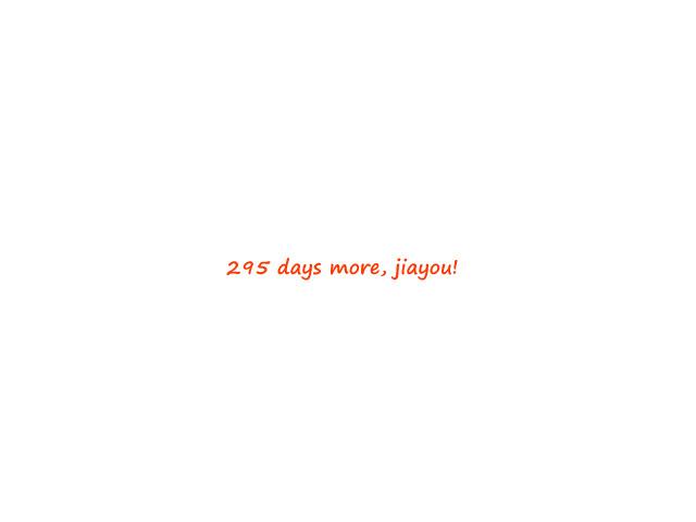 295days