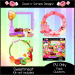 """Clusters Frame - """"Sweetmeat"""""""