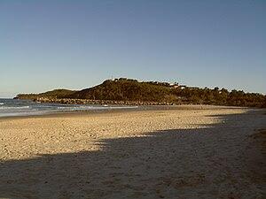 (Goanna Headland at sunset taken by me at Evan...
