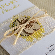 Indonesian Hibiscus Flower Passport Wedding Invitation (Bali)