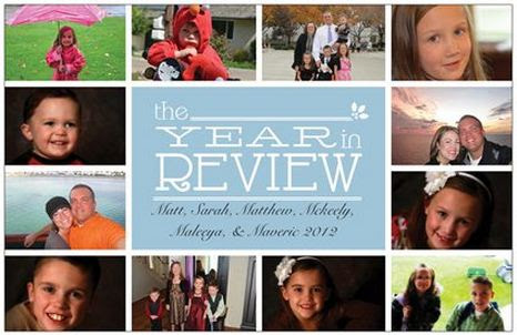 The Year In Review Christmas Card Only 2 Days Left 50 Cards For