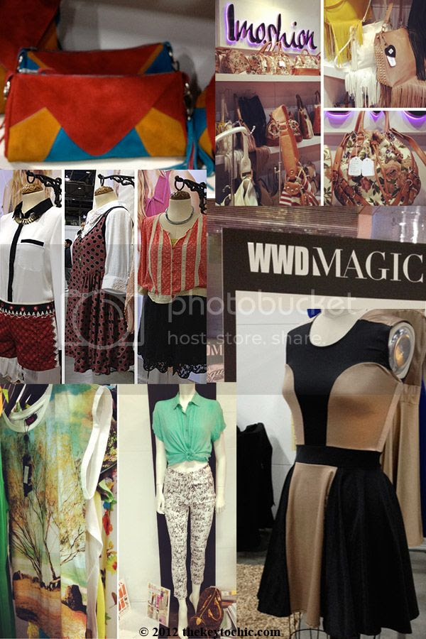Las Vegas style, WWD MAGIC, Magic trade show fashion, Imoshion handbags, Motel graphic prints, Free People fall 2012, Souldier handbags
