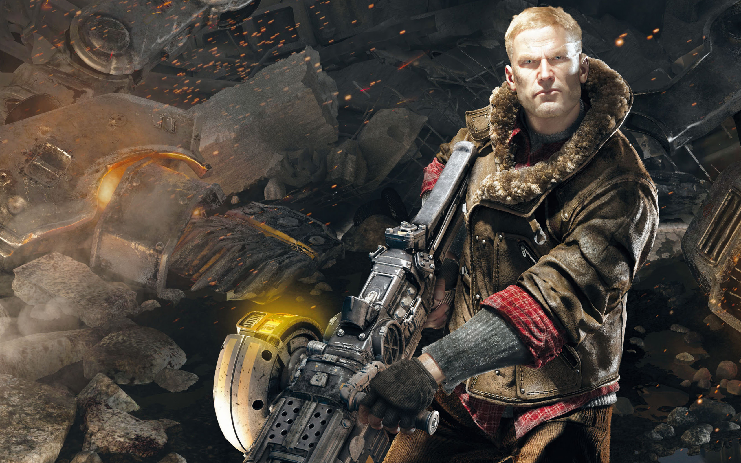 Bj Blazkowicz In Wolfenstein The New Order Wallpapers Wallpapers Hd