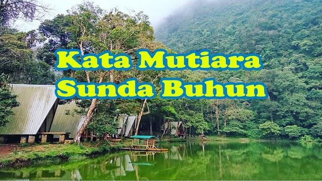 Kata Kata Mutiara Sunda Buhun