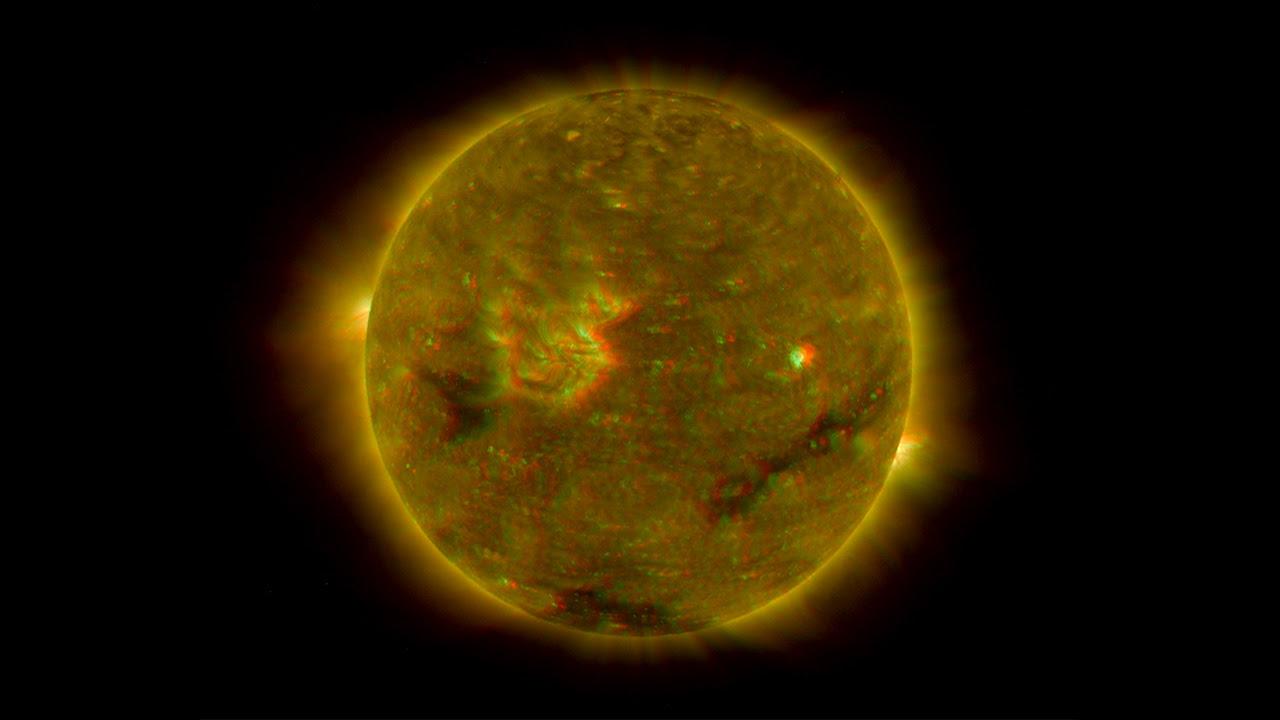 Imágenes del Sol en 3D