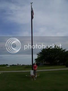 GIGANTIC Flagpole
