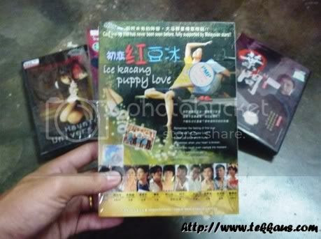 5 Original DVDs,Ice Kacang Puppy Love