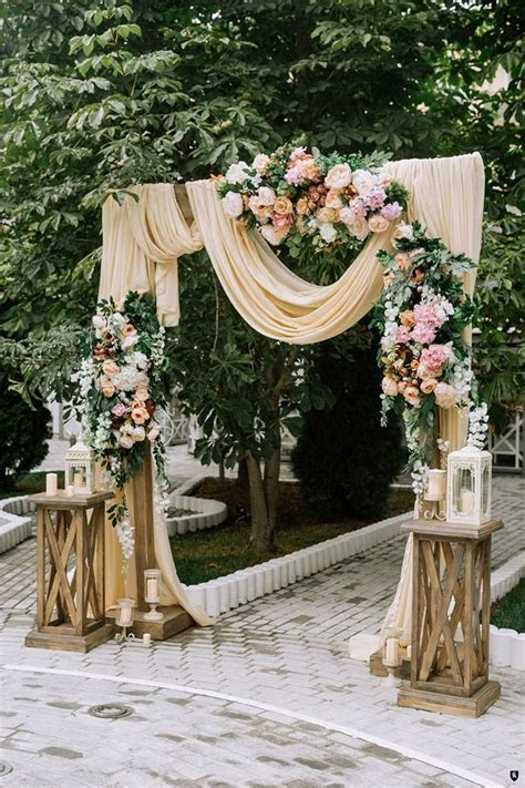 25 Inspirational Wedding Ceremony Arbor & Arch Ideas   for