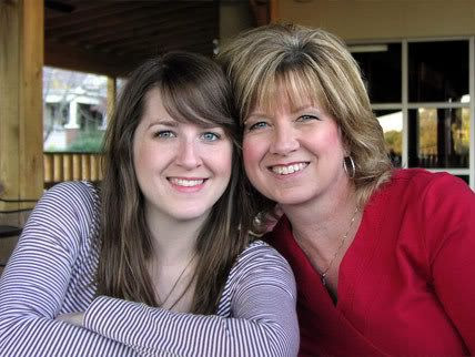 The women in my life: Amy and her Mom