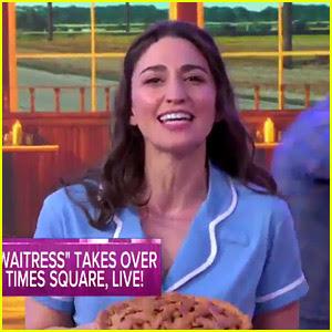 Sara Bareilles Opens Up on 'GMA' with a 'Waitress' Performance!
