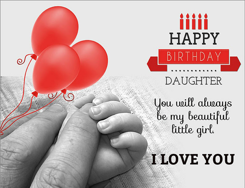 Happy Birthday Wishes For Daughter Birthday Messages Wishesmsg