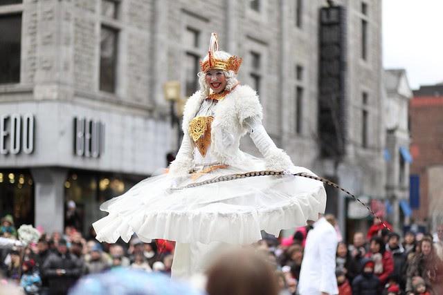 santa parade / montreal