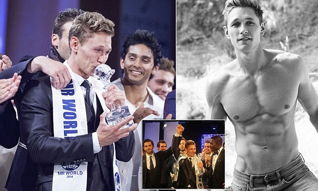 Mr Denmark wins Mister World 2014: World's most desirable man is carpenter with rippling six pack. But sorry, ladies, he's taken