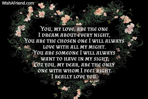 You Are Special Because Romantic Poem