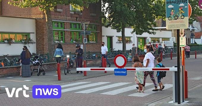 """Zele plaatst slagbomen aan schoolstraten: """"Zo moet het nog veiliger worden"""""""