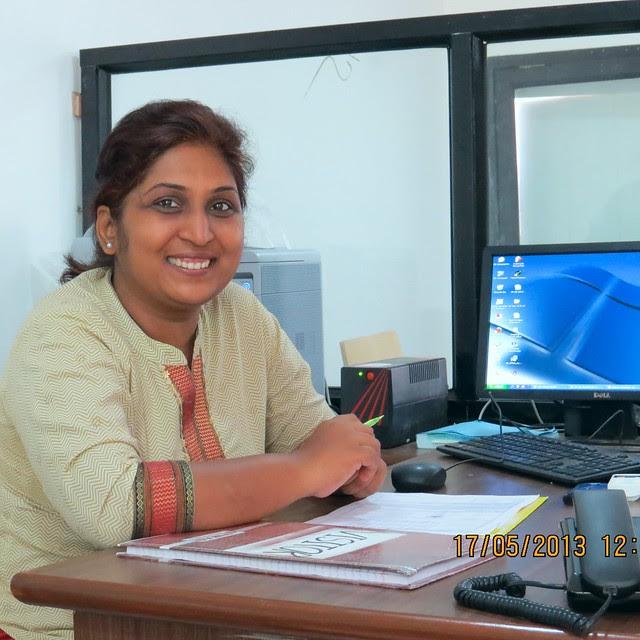 Ms. Smita, Marketing Officer, Sunshine Joy, 1 BHK & 2 BHK Flats at Pirangut, Pune 412108