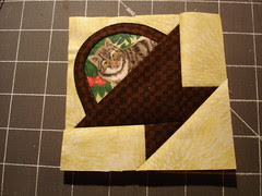 cat in a basket quilt block