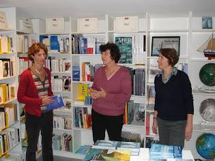 Isabelle Autissier à la librairie (septembre 2007)