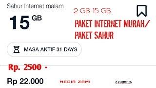 Cara Membeli Paket Sahur Internet Malam Telkomsel Kumpulan Remaja